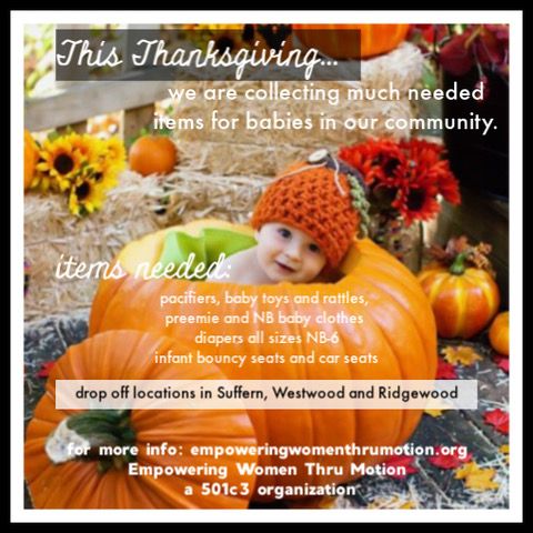 EWTM Thanksgiving Baby Collection